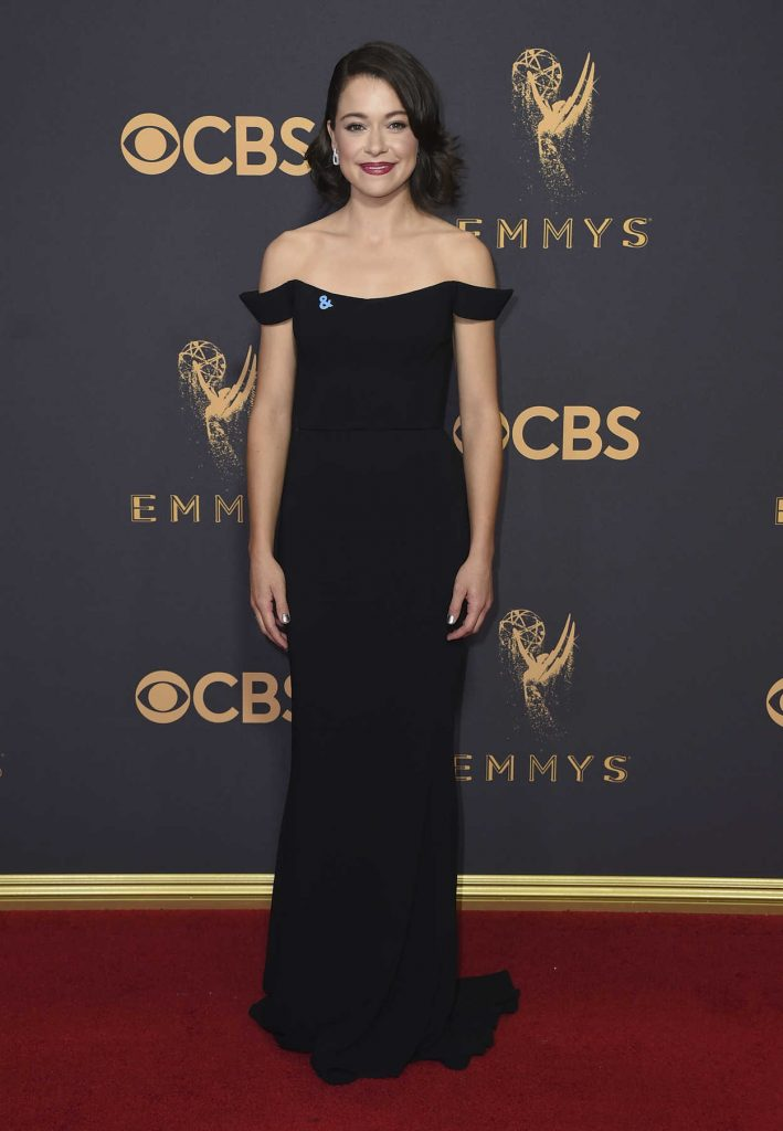 Tatiana Maslany at the 69th Annual Primetime Emmy Awards in Los Angeles 09/17/2017-1