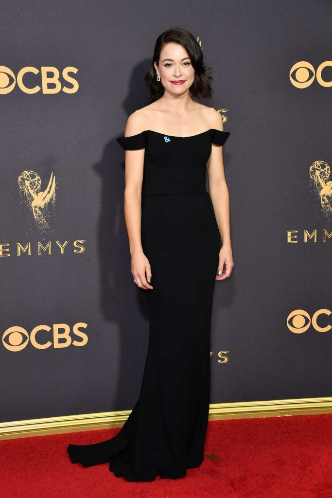 Tatiana Maslany at the 69th Annual Primetime Emmy Awards in Los Angeles 09/17/2017-2