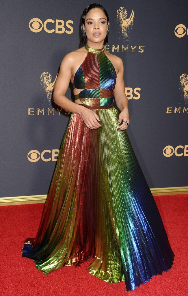 Tessa Thompson at the 69th Annual Primetime Emmy Awards in Los Angeles 09/17/2017-1