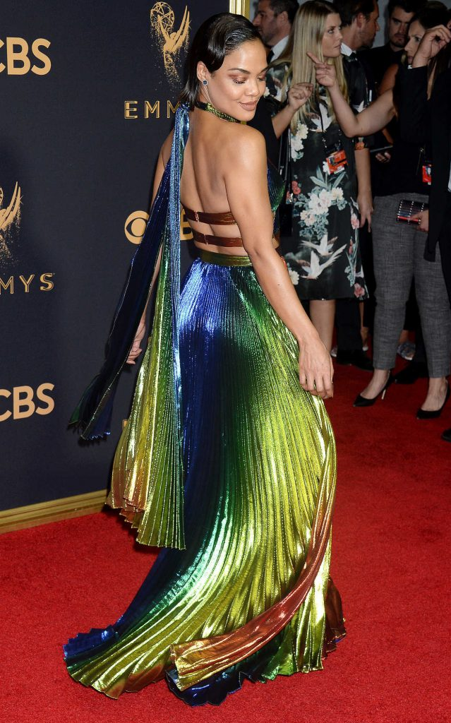 Tessa Thompson at the 69th Annual Primetime Emmy Awards in Los Angeles 09/17/2017-4