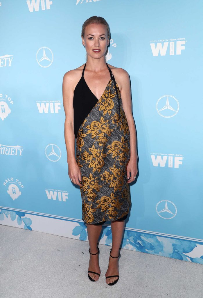 Yvonne Strahovski at the Variety and Women in Film Emmy Nominee Celebration in Los Angeles 09/15/2017-1