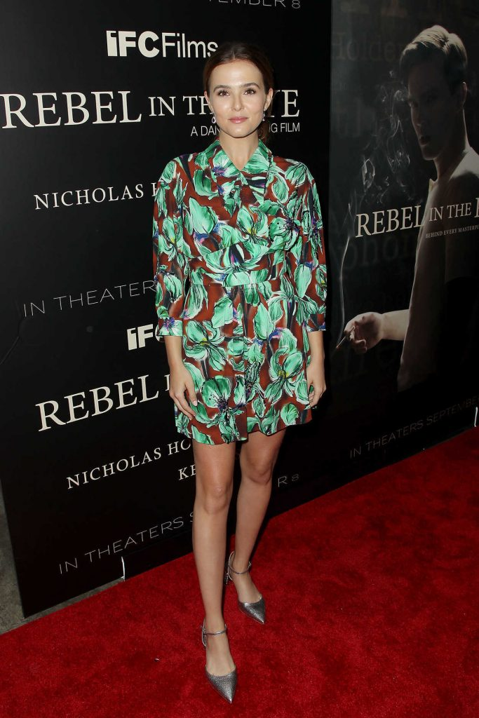Zoey Deutch at Rebel in the Rye Screening in New York 09/06/2017-1