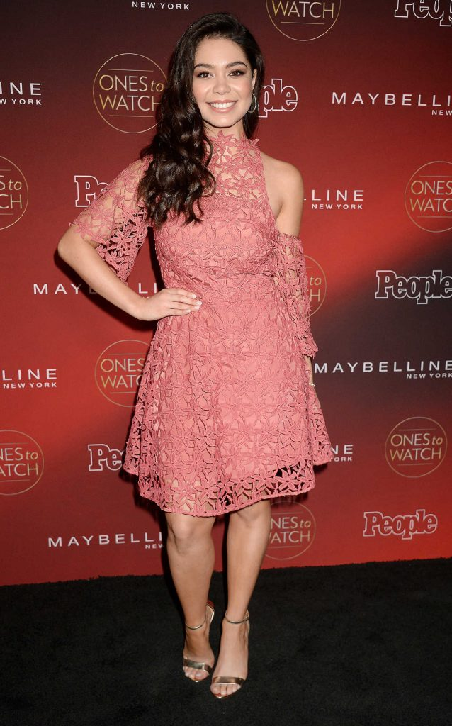 Auli'i Cravalho at the PEOPLE's Ones to Watch Party in Los Angeles 10/04/2017-1