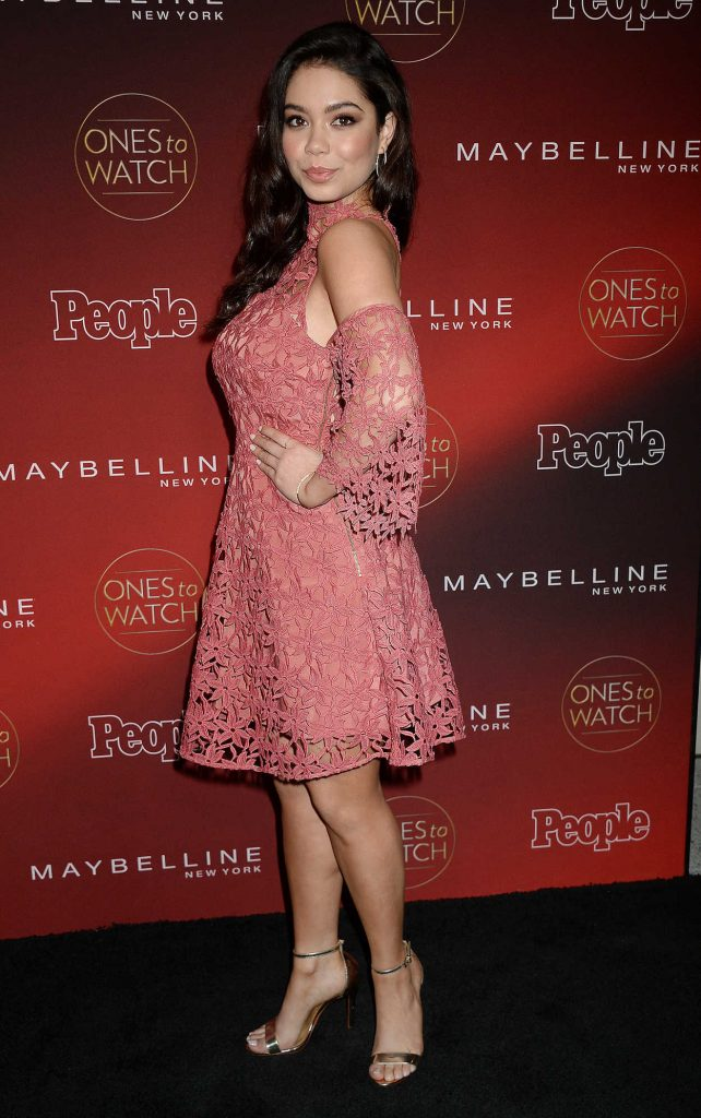 Auli'i Cravalho at the PEOPLE's Ones to Watch Party in Los Angeles 10/04/2017-3