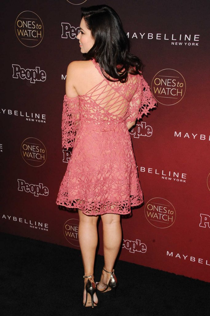 Auli'i Cravalho at the PEOPLE's Ones to Watch Party in Los Angeles 10/04/2017-4