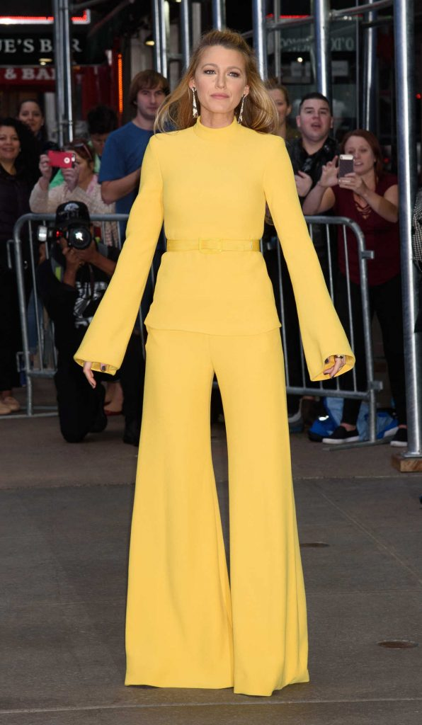 Blake Lively Visits Good Morning America in NYC 10/16/2017-4