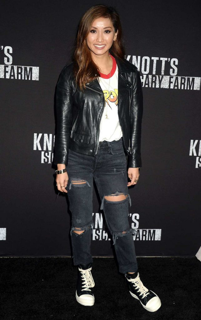 Brenda Song at the Knott's Scary Farm Celebrity Night in Buena Park 09/29/2017-1