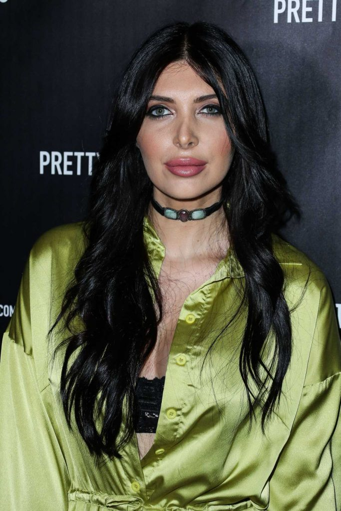 Brittny Gastineau at the PrettyLittleThing by Kourtney Kardashian Launch at Poppy in West Hollywood 10/25/2017-4