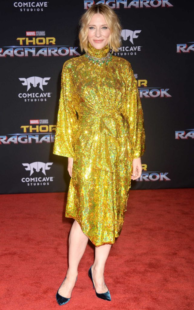 Cate Blanchett at the Thor: Ragnarok Premiere in Los Angeles 10/10/2017-1