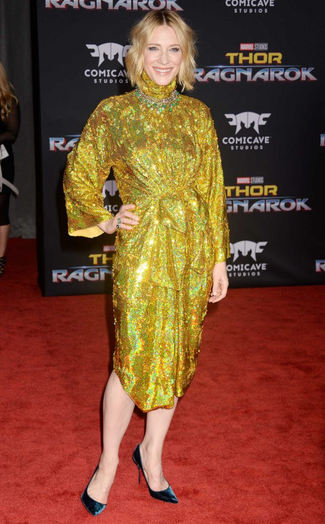 Cate Blanchett at the Thor: Ragnarok Premiere in Los Angeles 10/10/2017-3