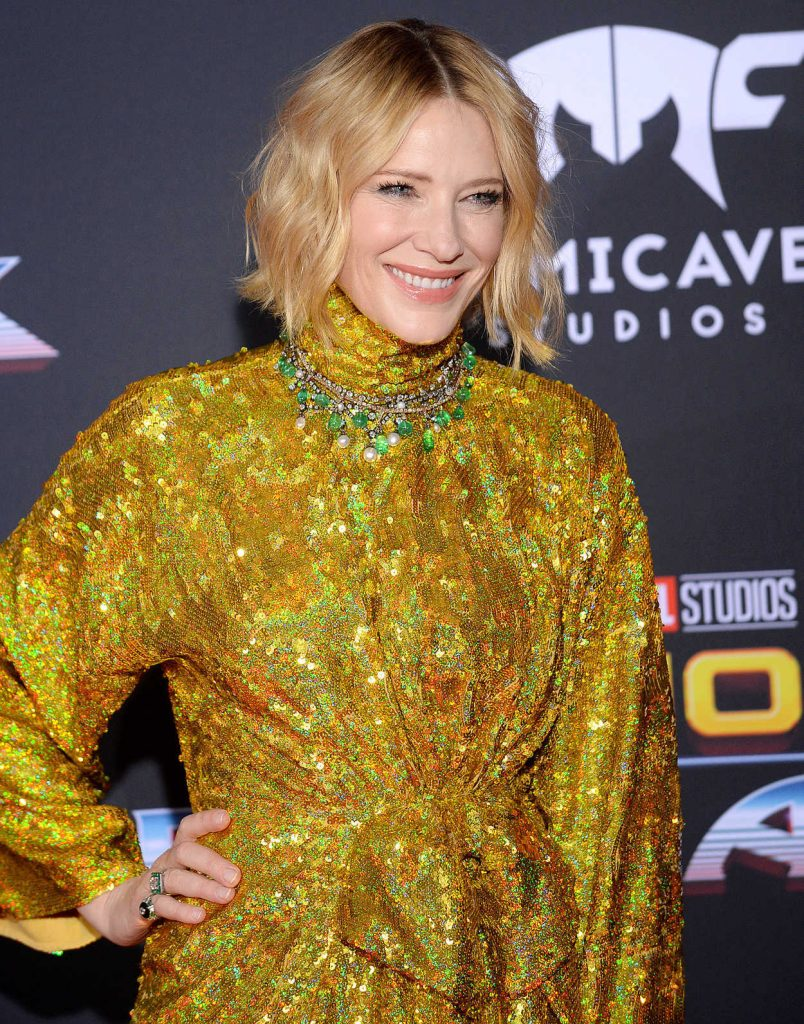 Cate Blanchett at the Thor: Ragnarok Premiere in Los Angeles 10/10/2017-4