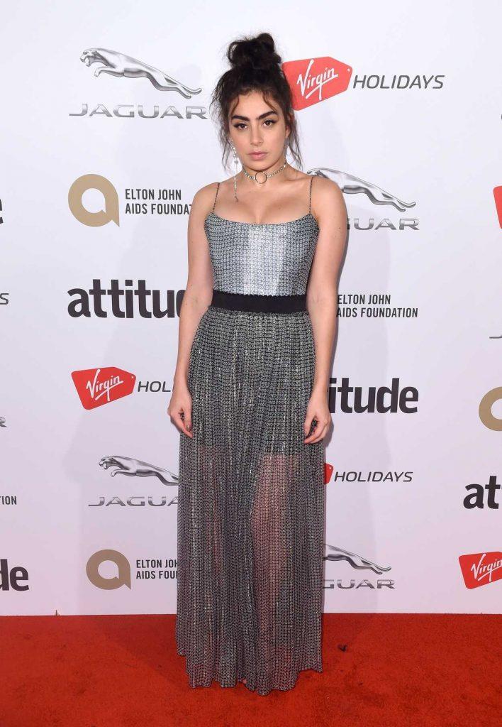 Charli XCX at Attitude Magazine Awards in London 10/12/2017-1