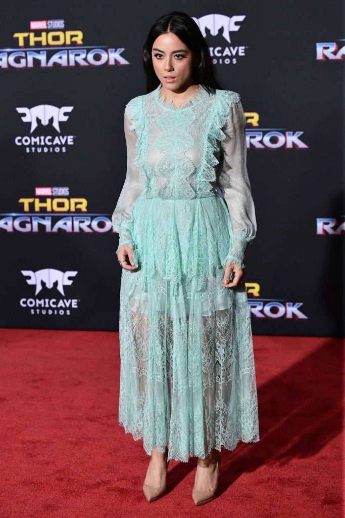 Chloe Bennet at the Thor: Ragnarok Premiere in Los Angeles 10/10/2017-2