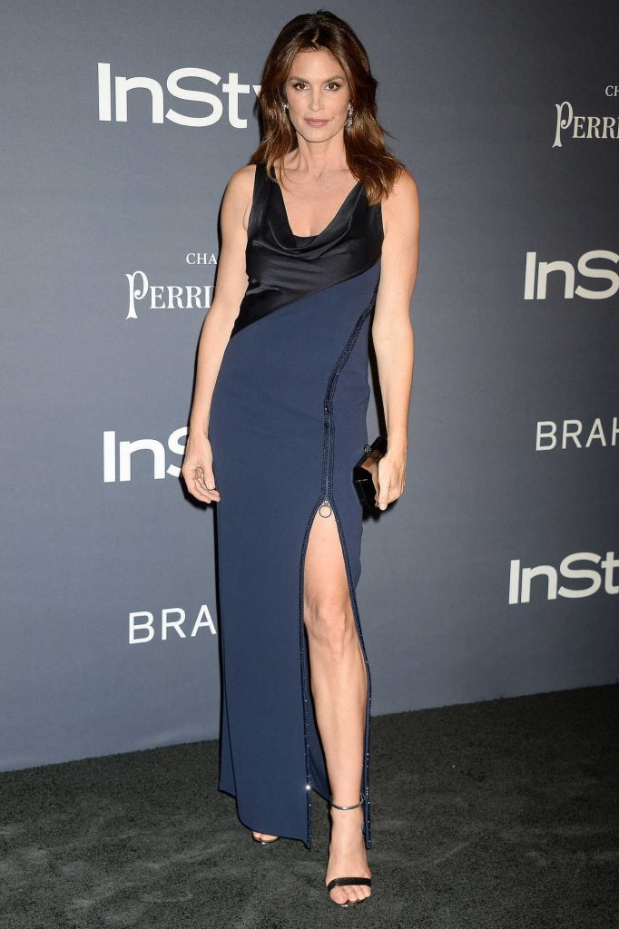 Cindy Crawford at the 3rd Annual InStyle Awards in Los Angeles 10/23/2017-1