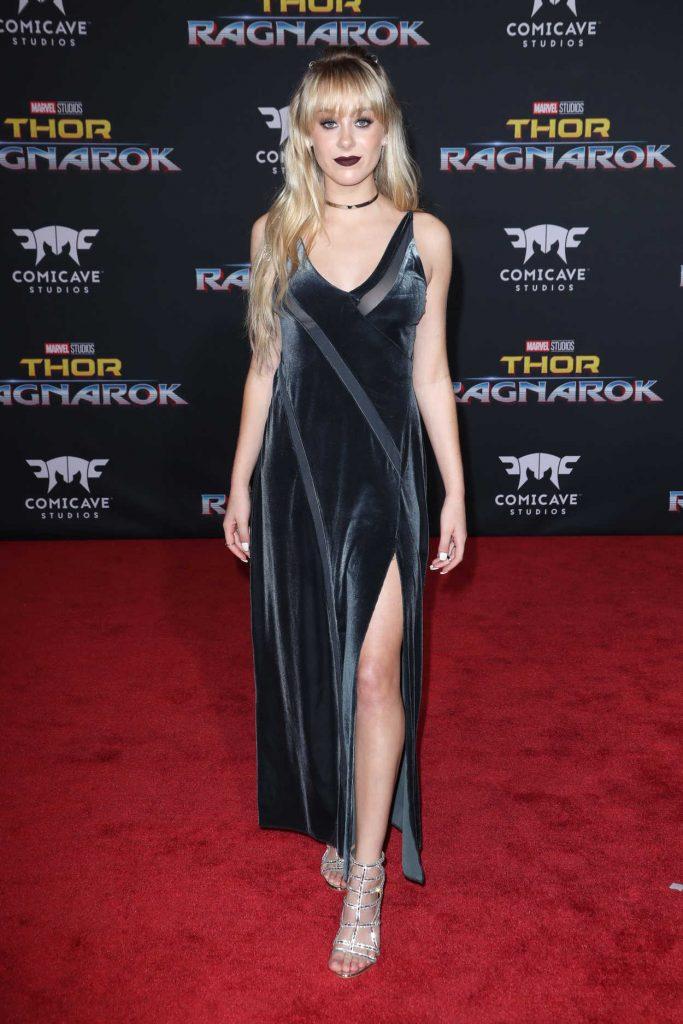 DeVore Ledridge at the Thor: Ragnarok Premiere in Los Angeles 10/10/2017-1