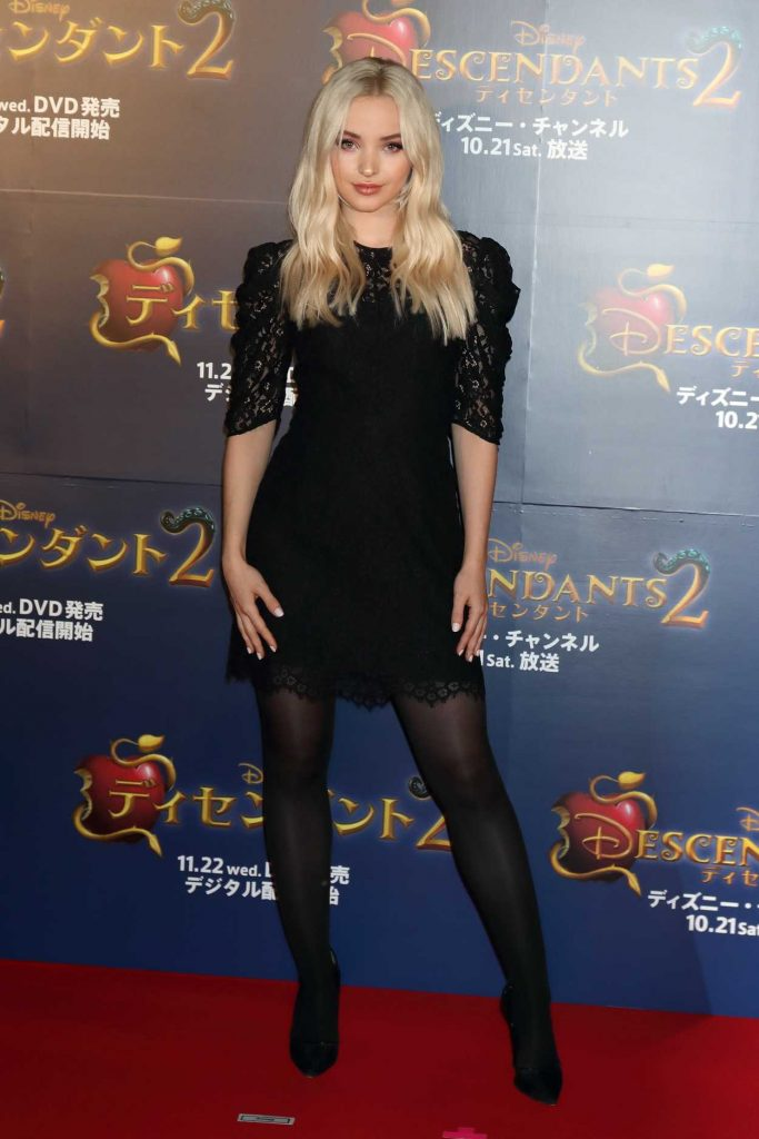 Dove Cameron at the Descendants 2 Premiere in Tokyo 10/12/2017-1