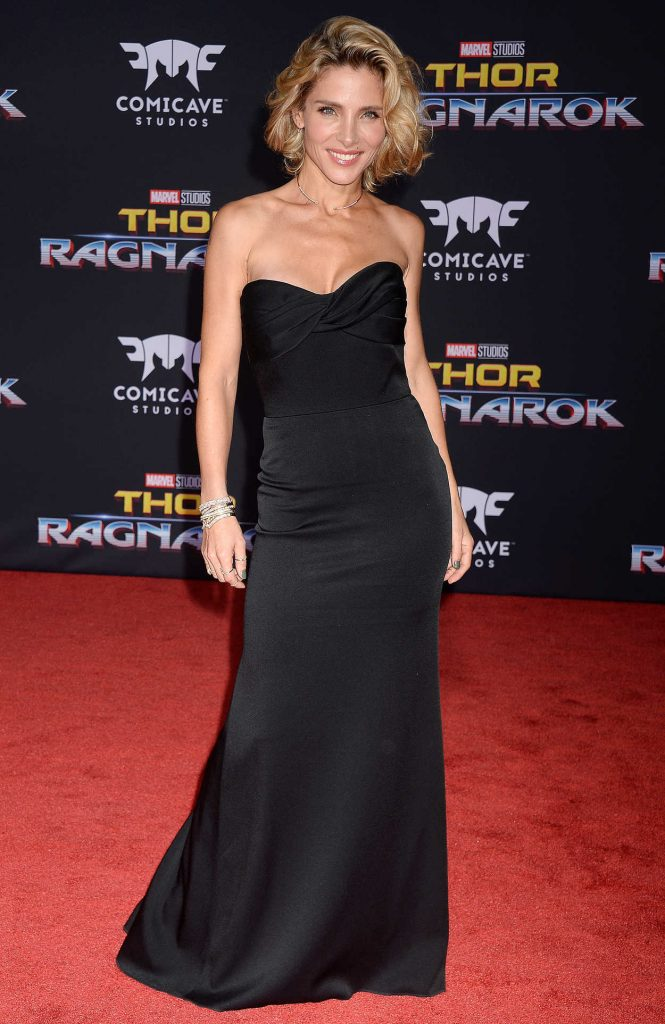 Elsa Pataky at the Thor: Ragnarok Premiere in Los Angeles 10/10/2017-1