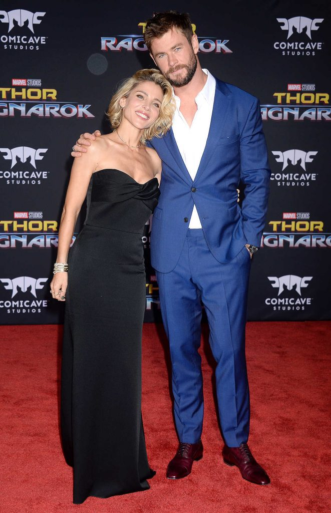 Elsa Pataky at the Thor: Ragnarok Premiere in Los Angeles 10/10/2017-3