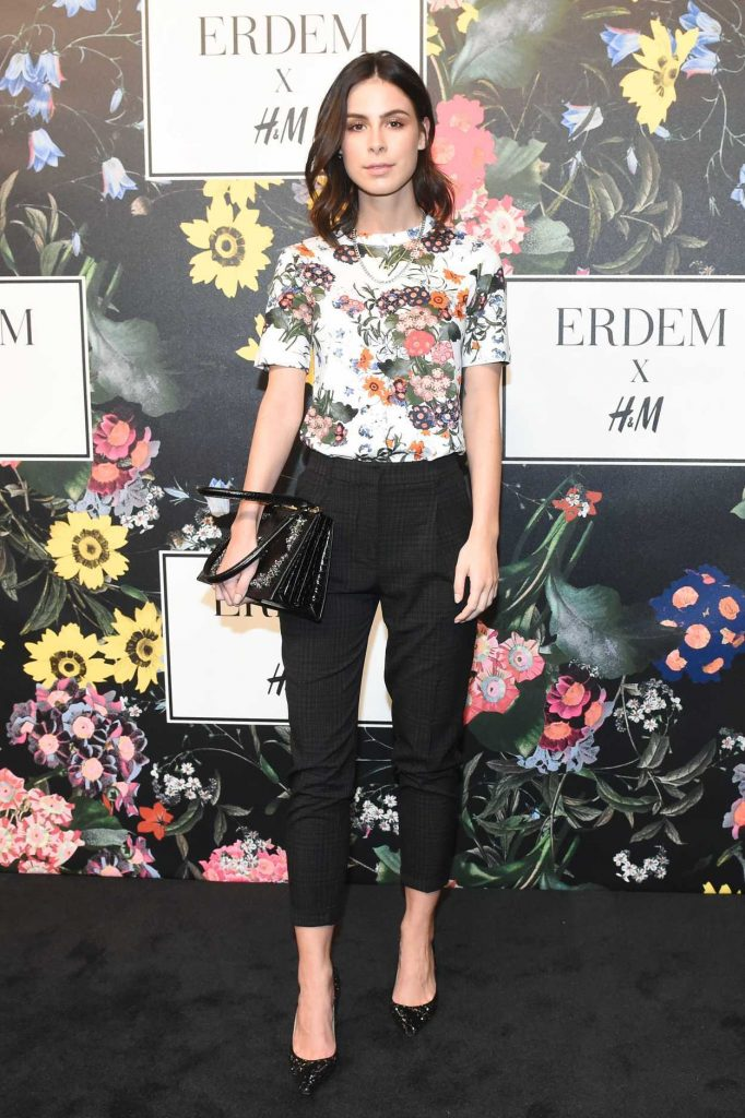 Lena Meyer-Landrut at Erdem x H&M Launch Event in Los Angeles 10/18/2017-1