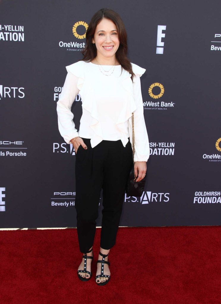 Marla Sokoloff at the P.S. ARTS' Express Yourself 2017 in Santa Monica 10/08/2017-1