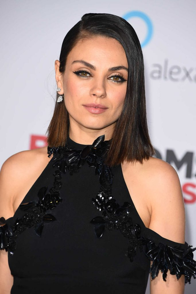 Mila Kunis at A Bad Mom's Christmas Premiere at the Regency Village Theatre in Westwood 10/30/2017-5