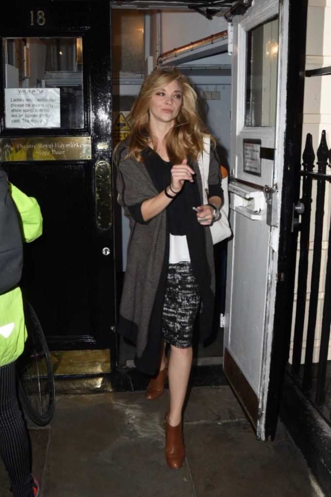 Natalie Dormer Was Seen Out in London 10/16/2017-1