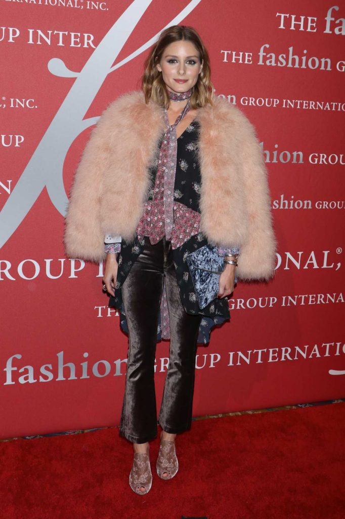 Olivia Palermo at the Fashion Group International Night of Stars Gala in New York 10/26/2017-1