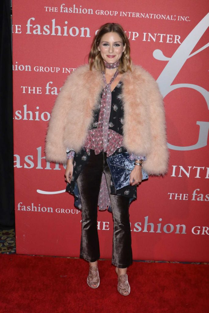 Olivia Palermo at the Fashion Group International Night of Stars Gala in New York 10/26/2017-2