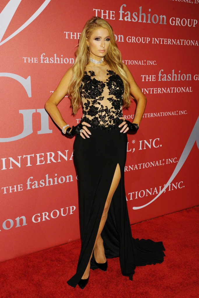 Paris Hilton at the Fashion Group International Night of Stars Gala in New York 10/26/2017-4