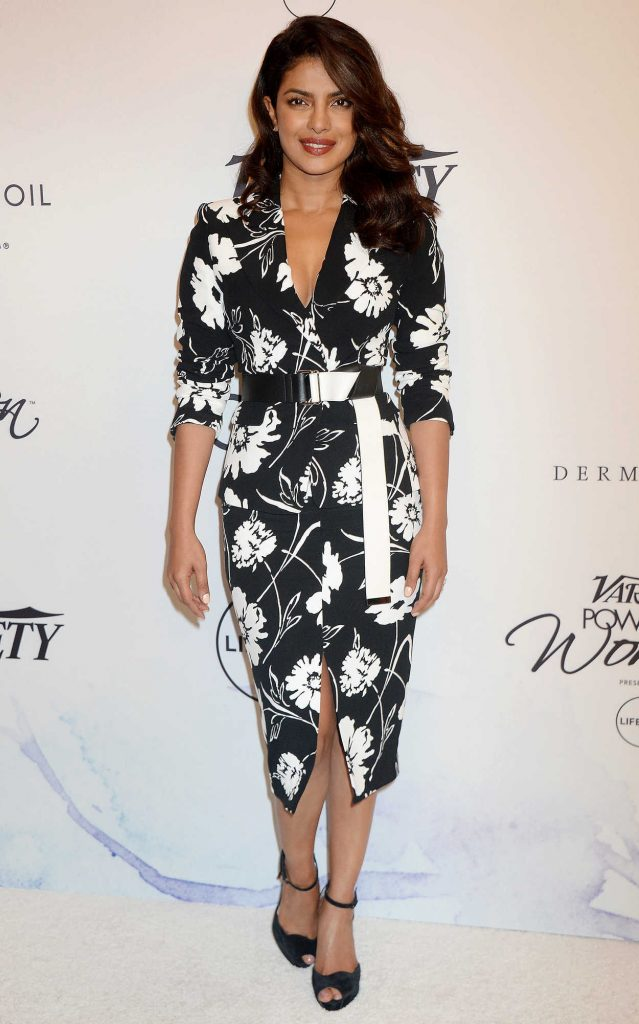 Priyanka Chopra at the Variety's Power of Women Presented by Lifetime in Los Angeles 10/13/2017-1