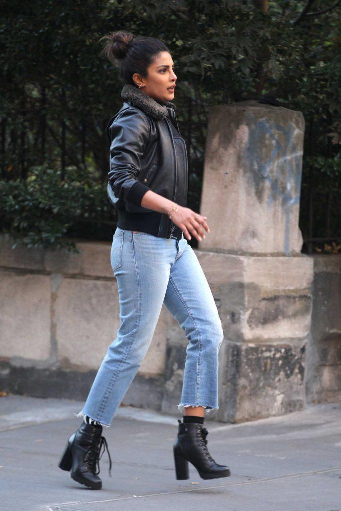 Priyanka Chopra on the Set of Quantico in NYC 10/27/2017-1