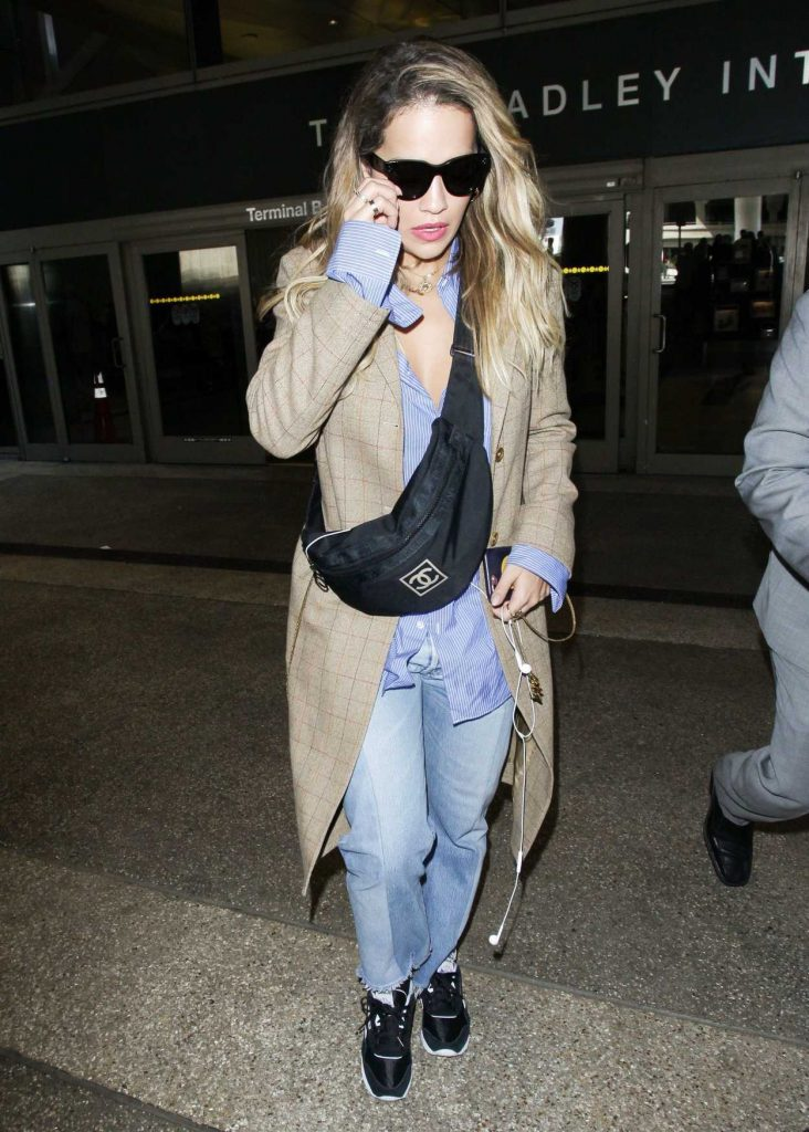 Rita Ora Arrives at LAX Airport in Los Angeles 09/30/2017-2