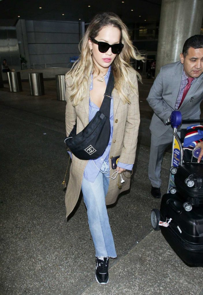 Rita Ora Arrives at LAX Airport in Los Angeles 09/30/2017-3