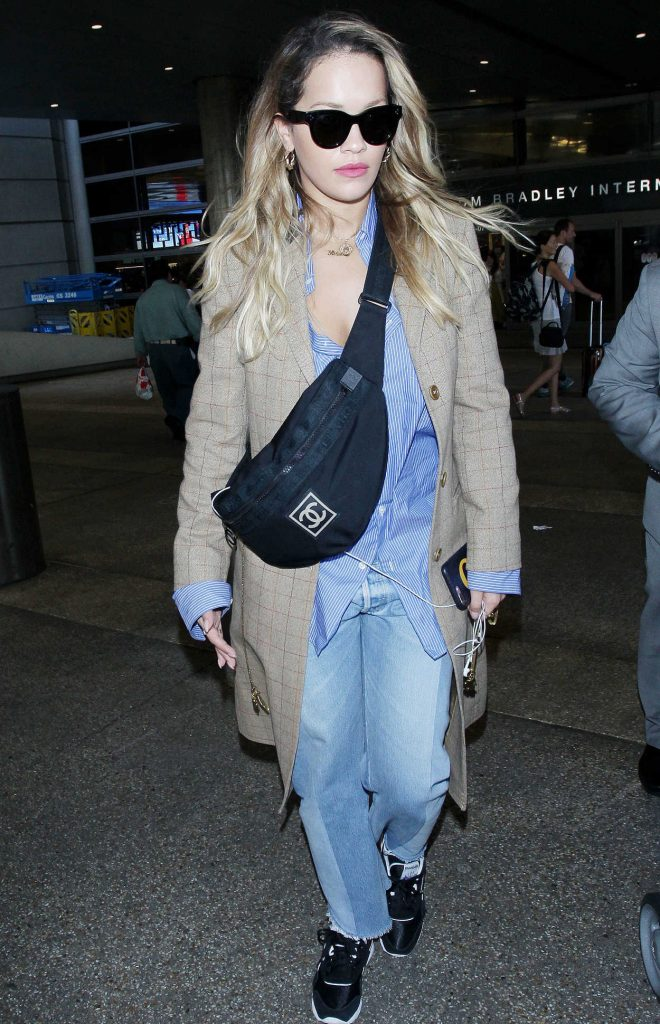 Rita Ora Arrives at LAX Airport in Los Angeles 09/30/2017-5