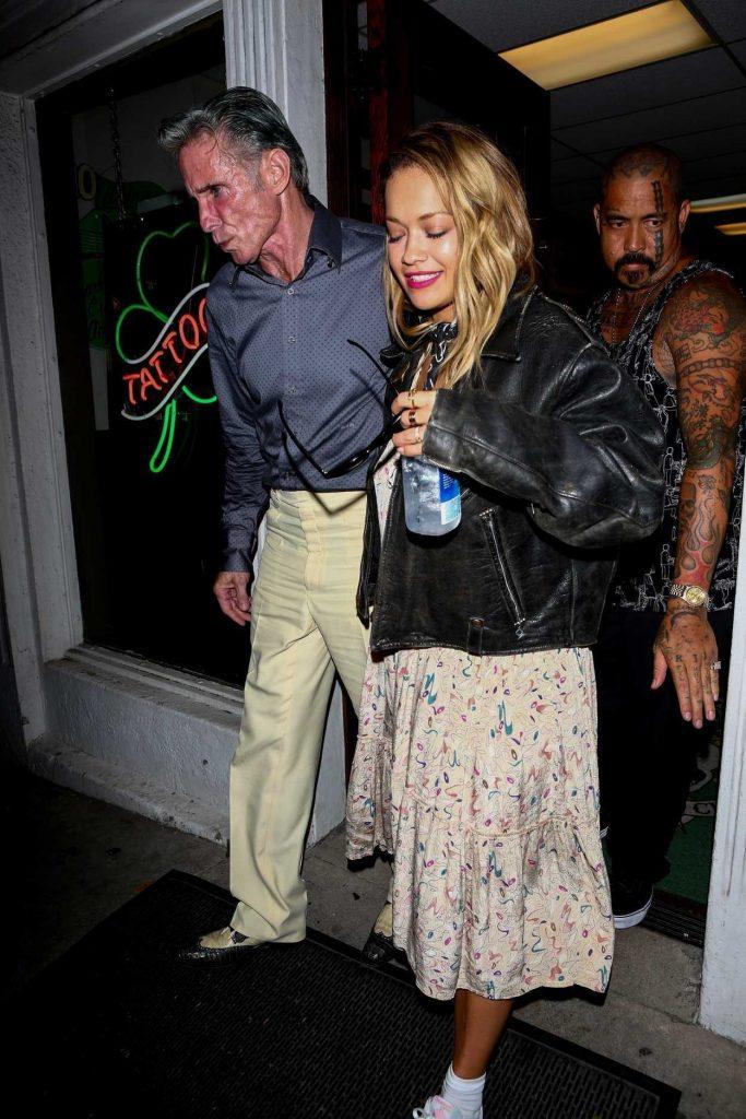 Rita Ora Leaves the Shamrock Tattoo in Los Angeles 09/30/2017-1