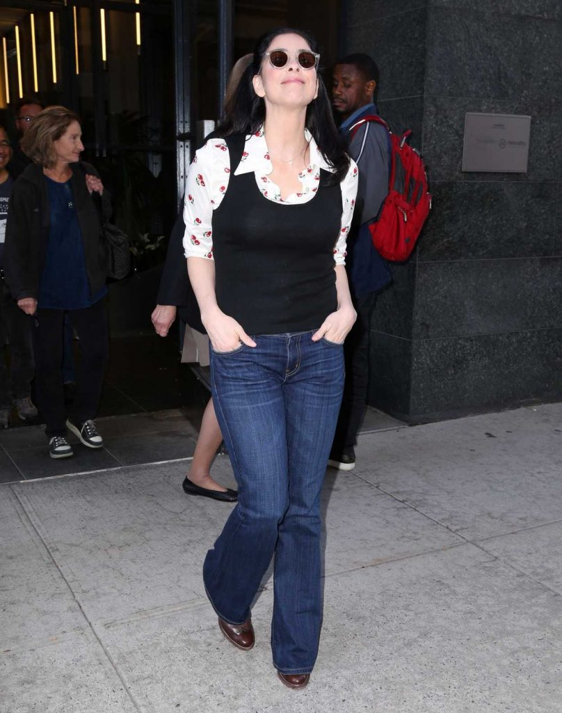 Sarah Silverman Was Seen Out in New York 10/03/2017-2