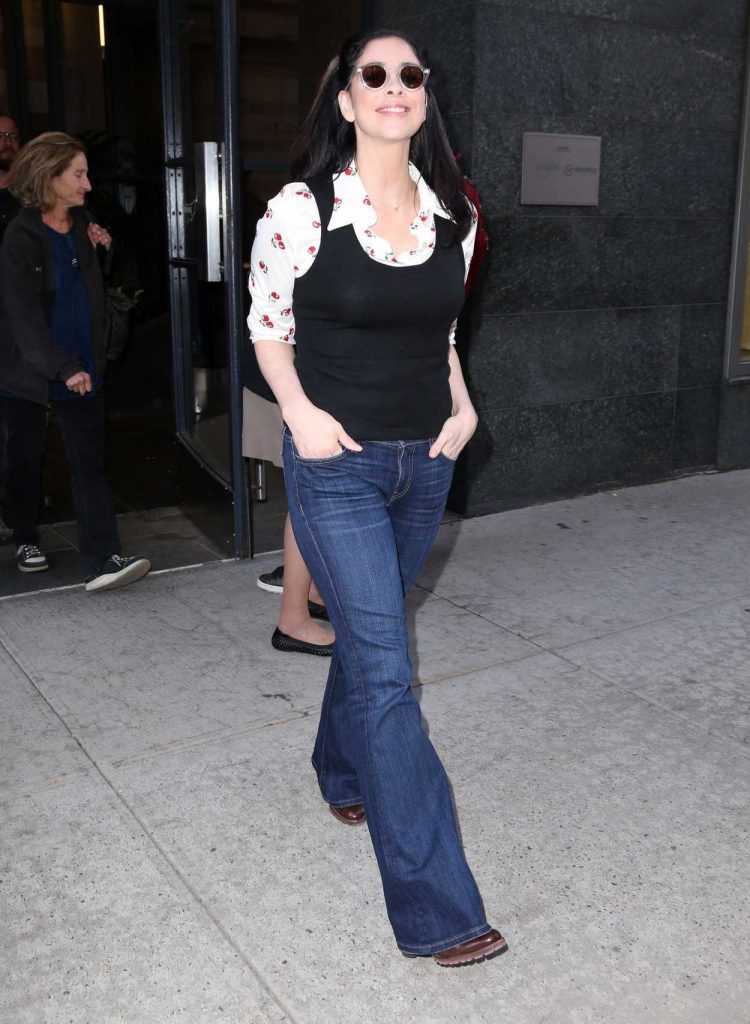 Sarah Silverman Was Seen Out in New York 10/03/2017-3