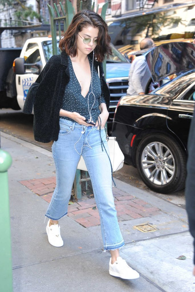 Selena Gomez Was Seen Out in NYC 10/03/2017-1