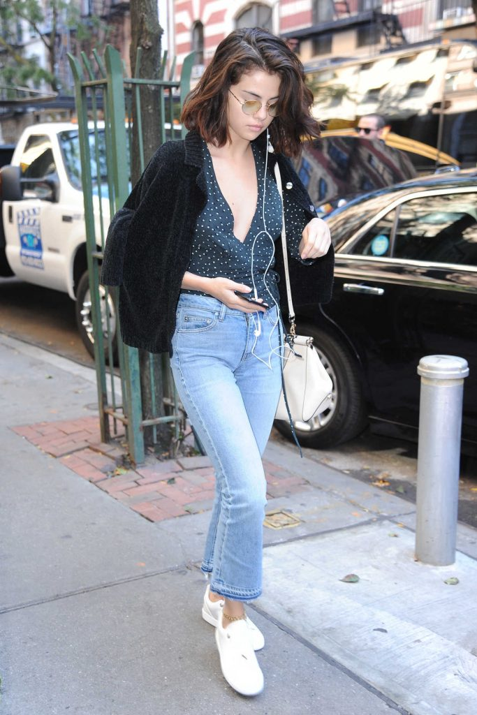 Selena Gomez Was Seen Out in NYC 10/03/2017-2