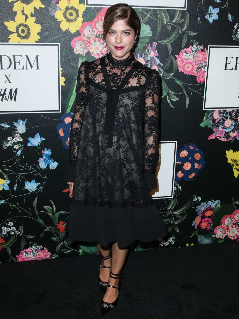 Selma Blair at Erdem x H&M Launch Event in Los Angeles 10/18/2017-1