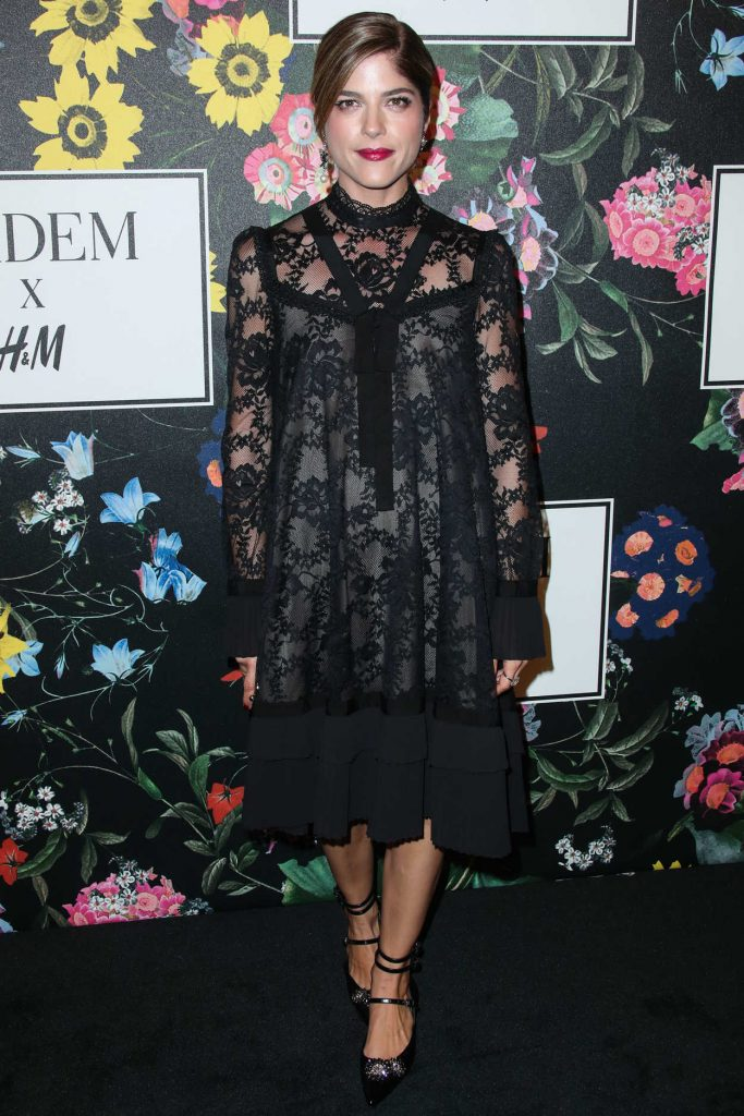 Selma Blair at Erdem x H&M Launch Event in Los Angeles 10/18/2017-2
