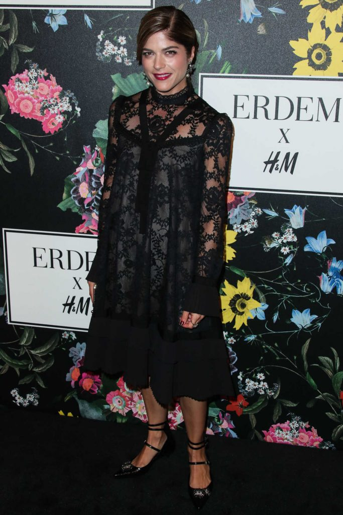 Selma Blair at Erdem x H&M Launch Event in Los Angeles 10/18/2017-3