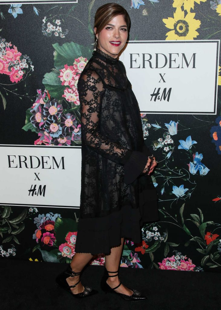 Selma Blair at Erdem x H&M Launch Event in Los Angeles 10/18/2017-4