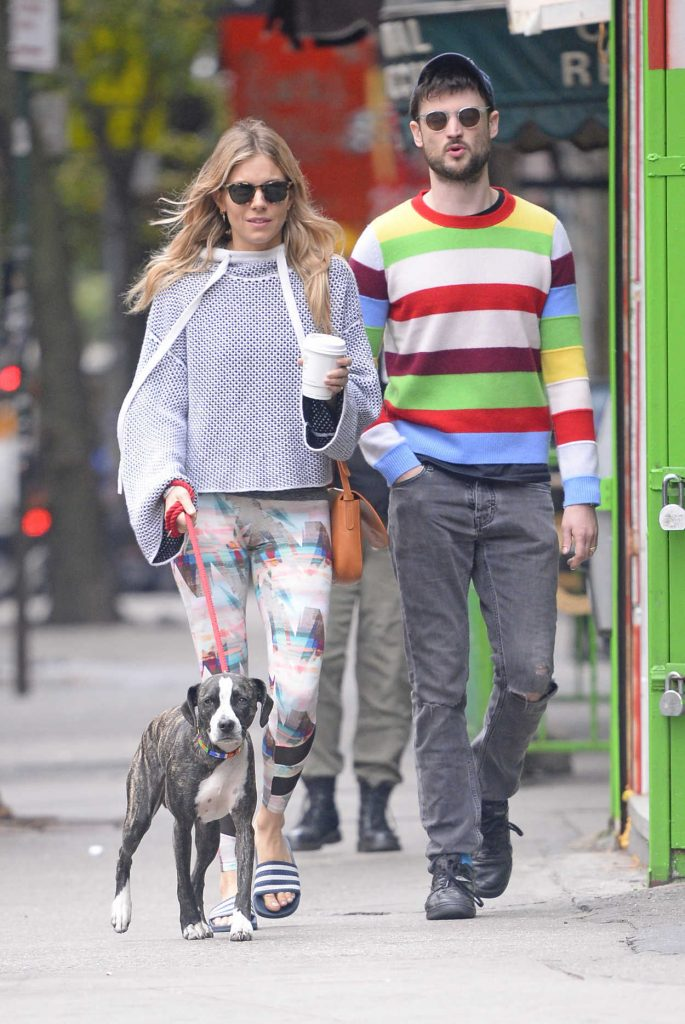 Sienna Miller Was Seen Out in New York 10/13/2017-5