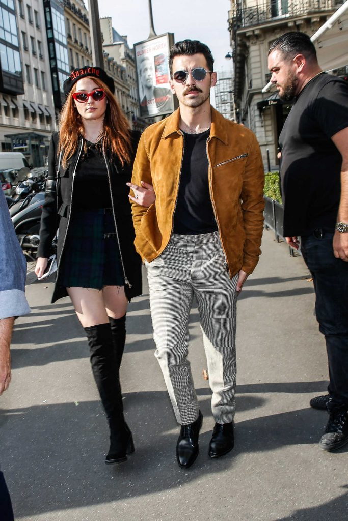Sophie Turner Was Seen Out in Paris 10/17/2017-1
