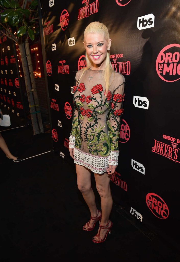 Tara Reid at the Drop The Mic and The Jokers Wild TV Series Premiere in Los Angeles 10/11/2017-2