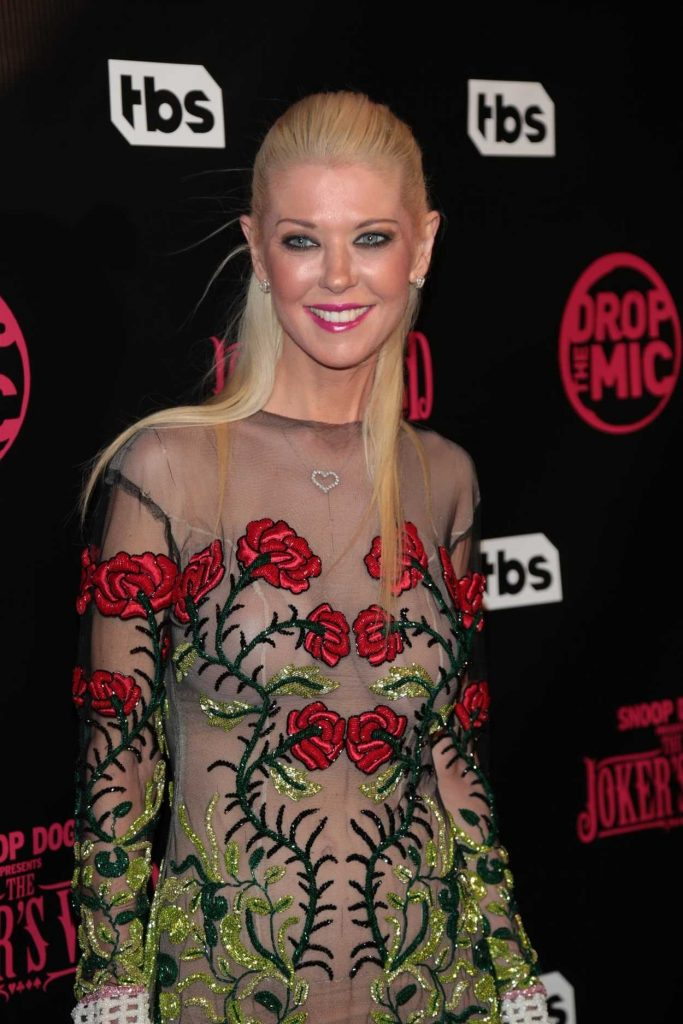 Tara Reid at the Drop The Mic and The Jokers Wild TV Series Premiere in Los Angeles 10/11/2017-4