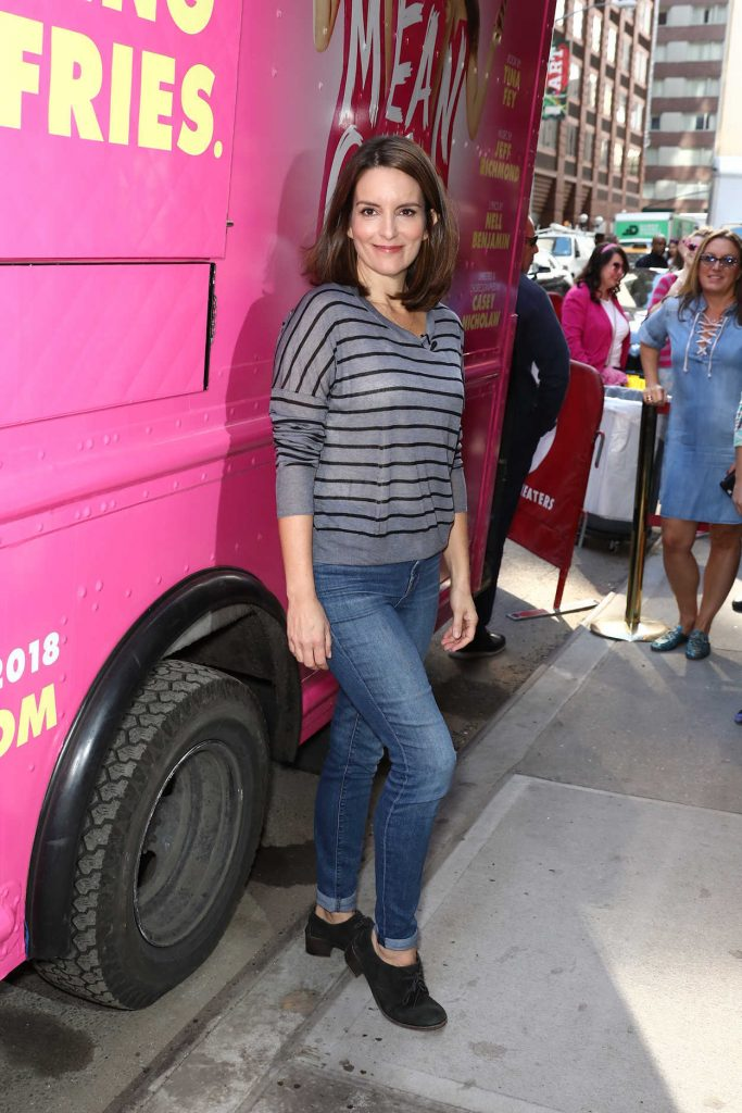 Tina Fey at the Mean Girls Celebration on Broadway in New York City 10/03/2017-1