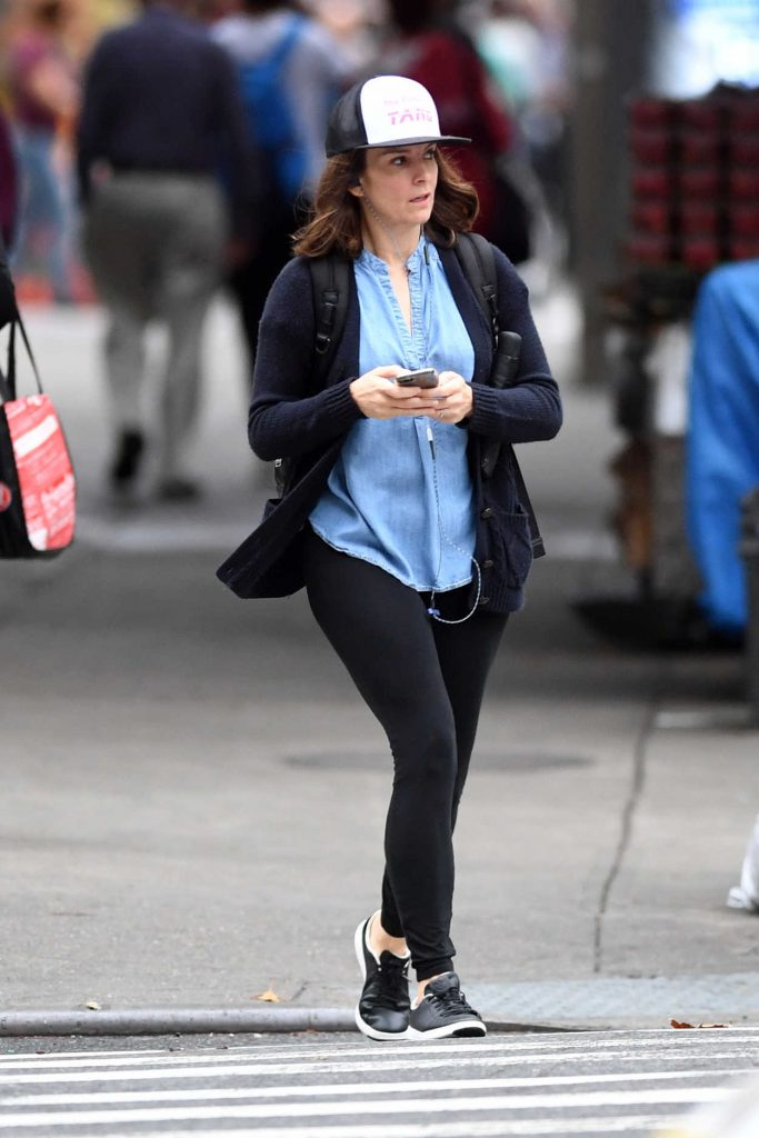 Tina Fey Was Seen Out in New York City 10/09/2017-2