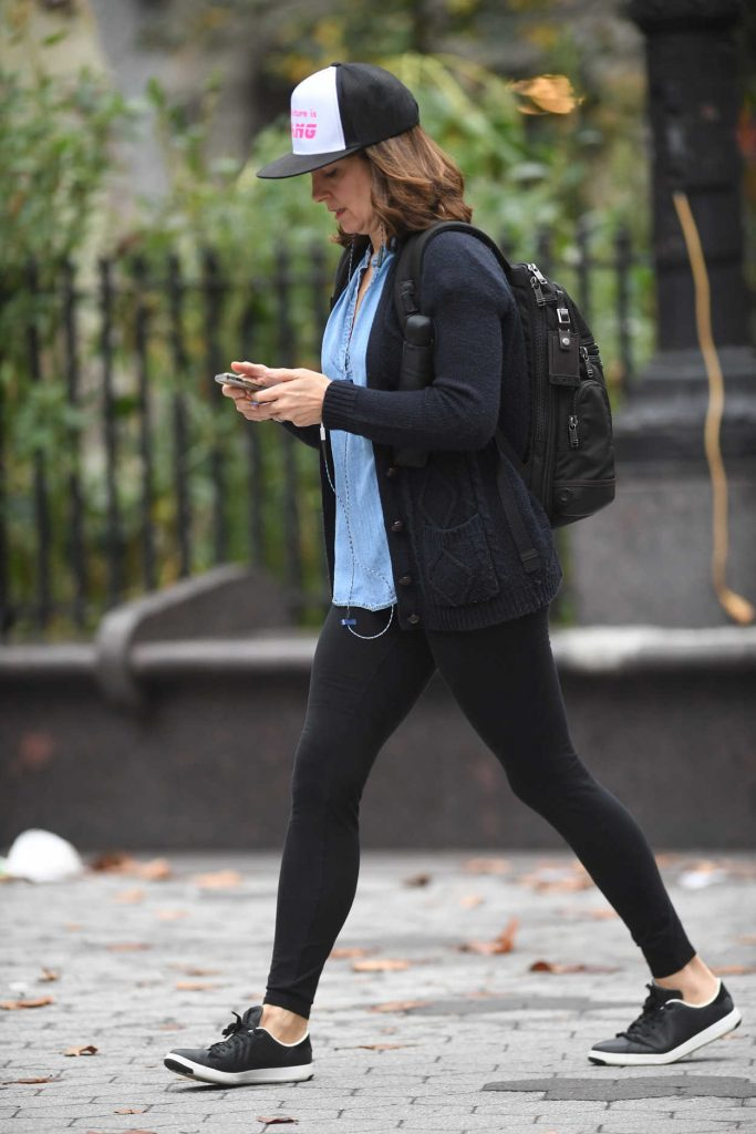 Tina Fey Was Seen Out in New York City 10/09/2017-3